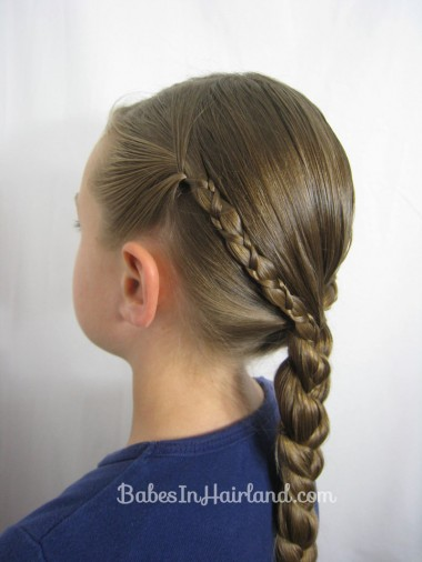 Uneven 3 Strand Braid Video from BabesInHairland.com (2)