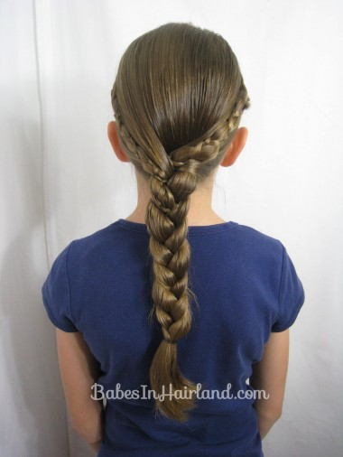 Uneven 3 Strand Braid Video from BabesInHairland.com (4)