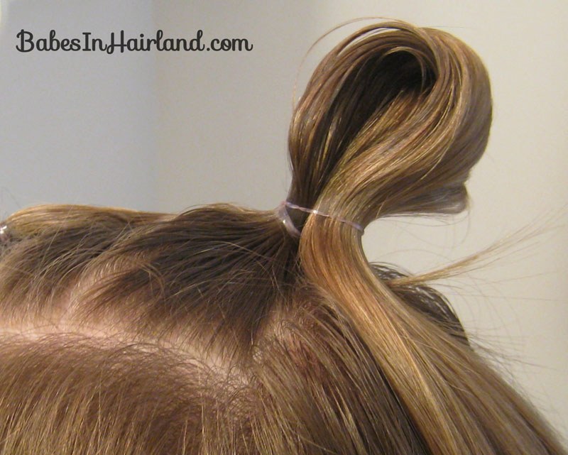 Quick Half Up Ponies Messy Bun 5 Babes In Hairland