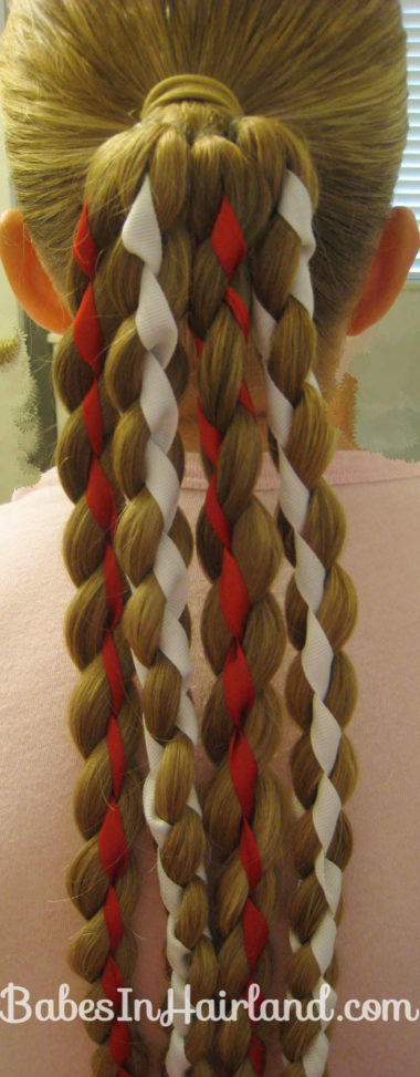 Vertical American Flag Hairstyle (13)