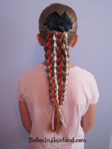 Vertical American Flag Hairstyle (16)