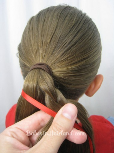 Patriotic Ladder Braid from BabesInHairland.com (8)