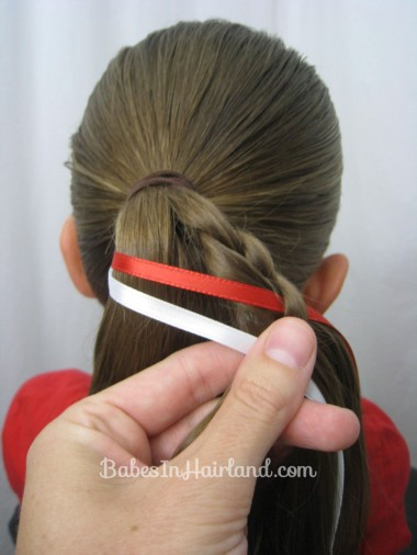 Patriotic Ladder Braid from BabesInHairland.com (9)
