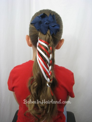 Patriotic Ladder Braid from BabesInHairland.com (13)