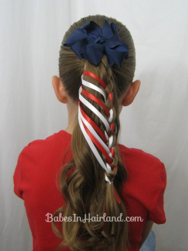Patriotic Ladder Braid from BabesInHairland.com (14)