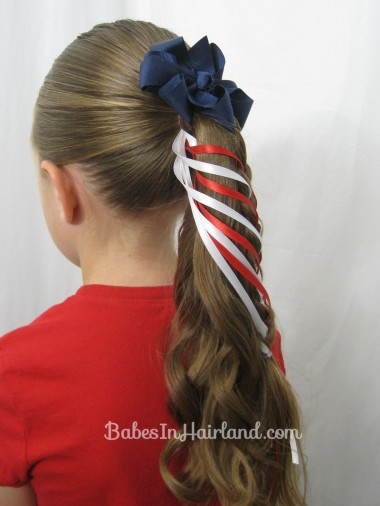 Patriotic Ladder Braid from BabesInHairland.com (16)