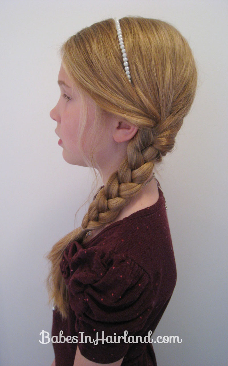 Slightly Messy Amp Loose Side Braid Babes In Hairland