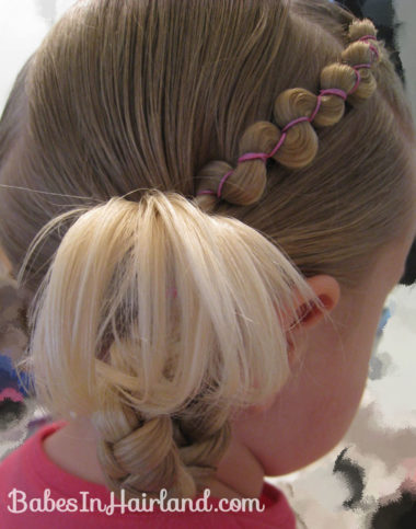 Rubber Band Wraps & Flipped Braids (11)