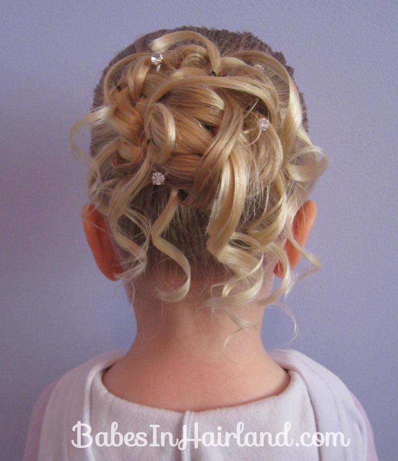 Wedding Hairstyles Youtube: Feather Braided Bun #2