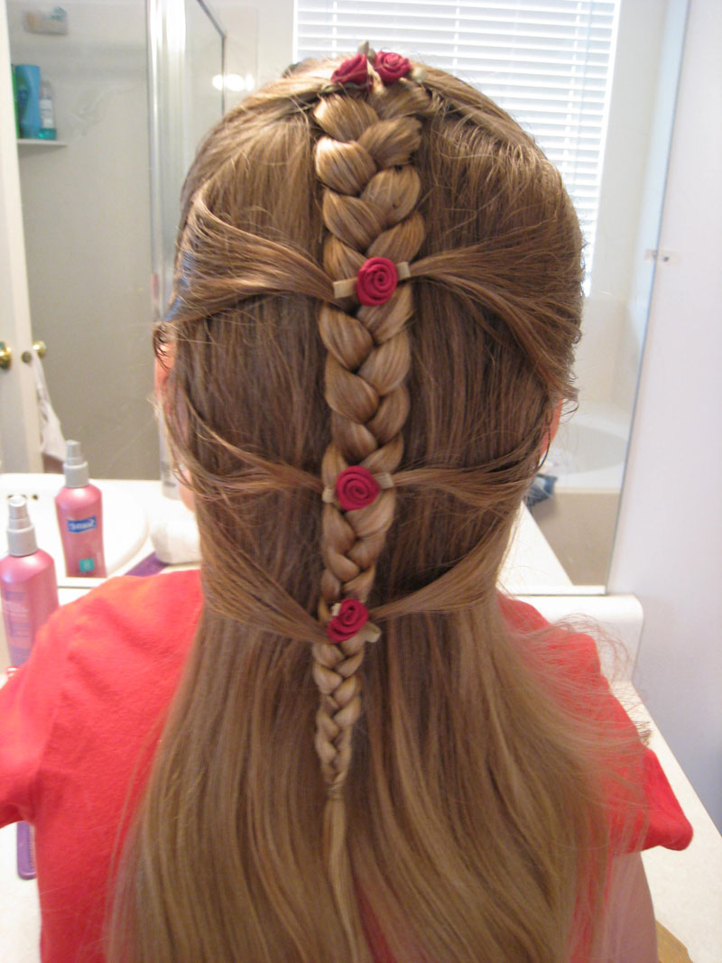 Basic Braid With A Little French Babes In Hairland