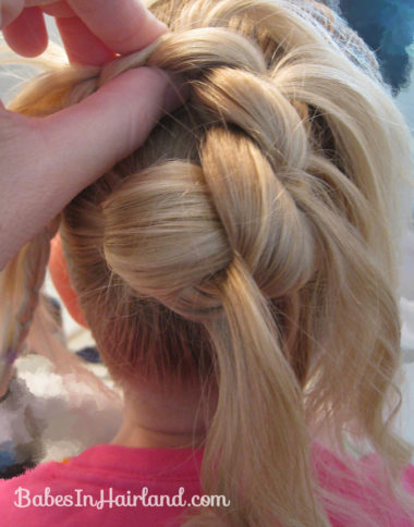 Feather Braided Bun (6)