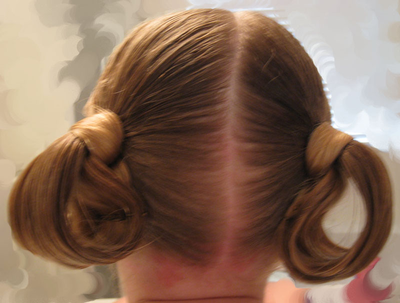 Looped Puppy Dog Ears Hairstyle Babes In Hairland