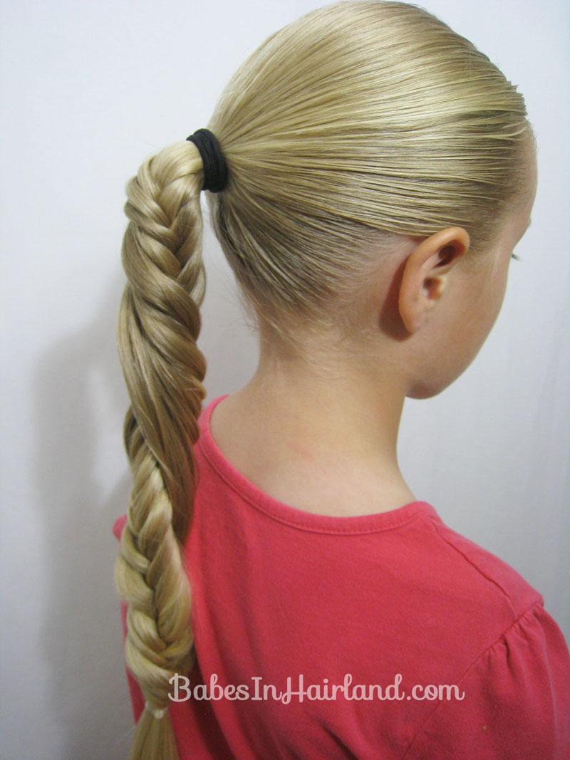 Groovy Carousel Spiral Fishbone Braid Babes In Hairland Short Hairstyles Gunalazisus