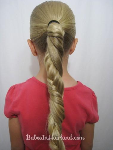 Marvelous Carousel Spiral Fishbone Braid Babes In Hairland Short Hairstyles Gunalazisus