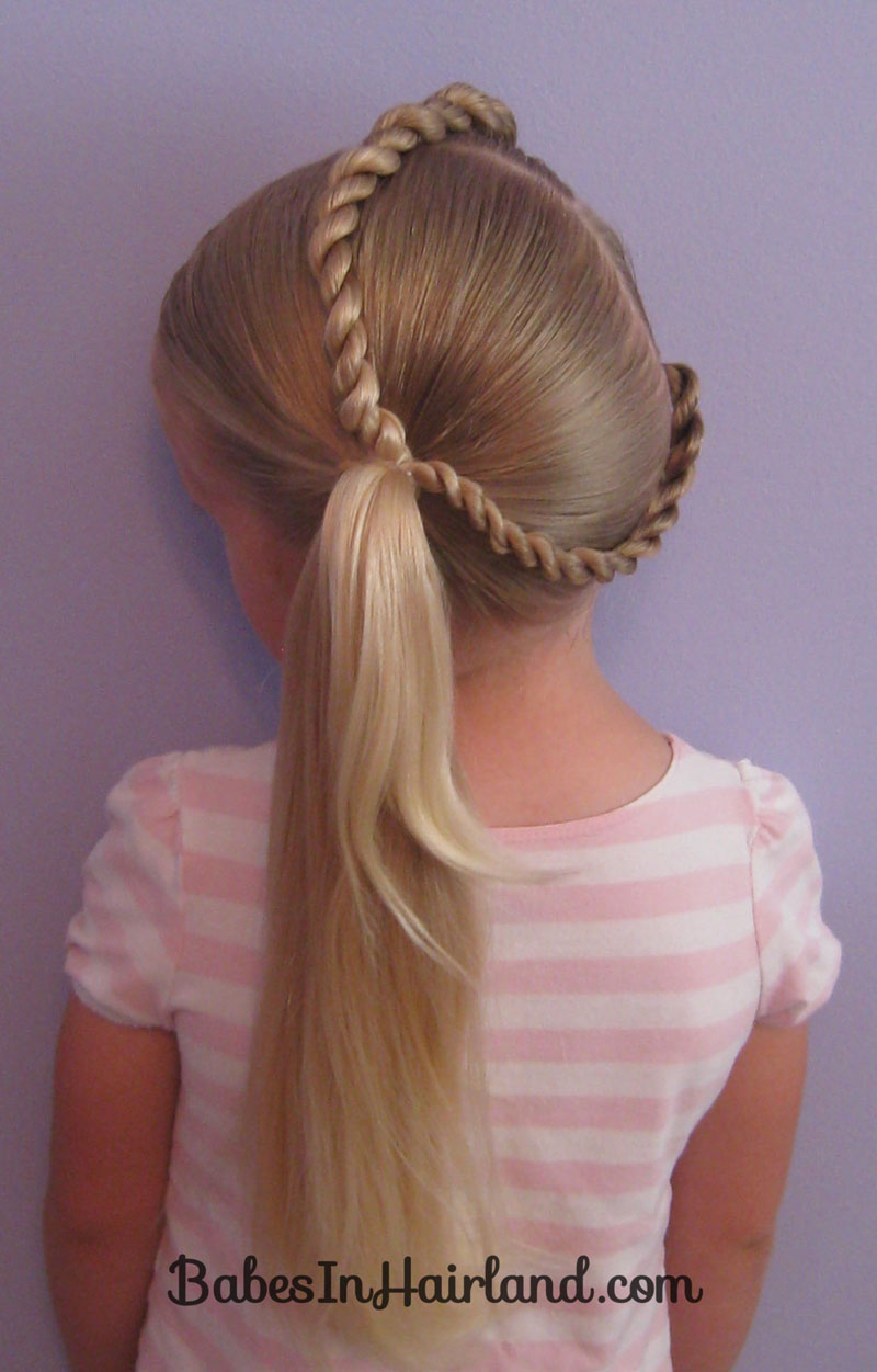 pony hair styles letter c hairstyle in hairland 2175