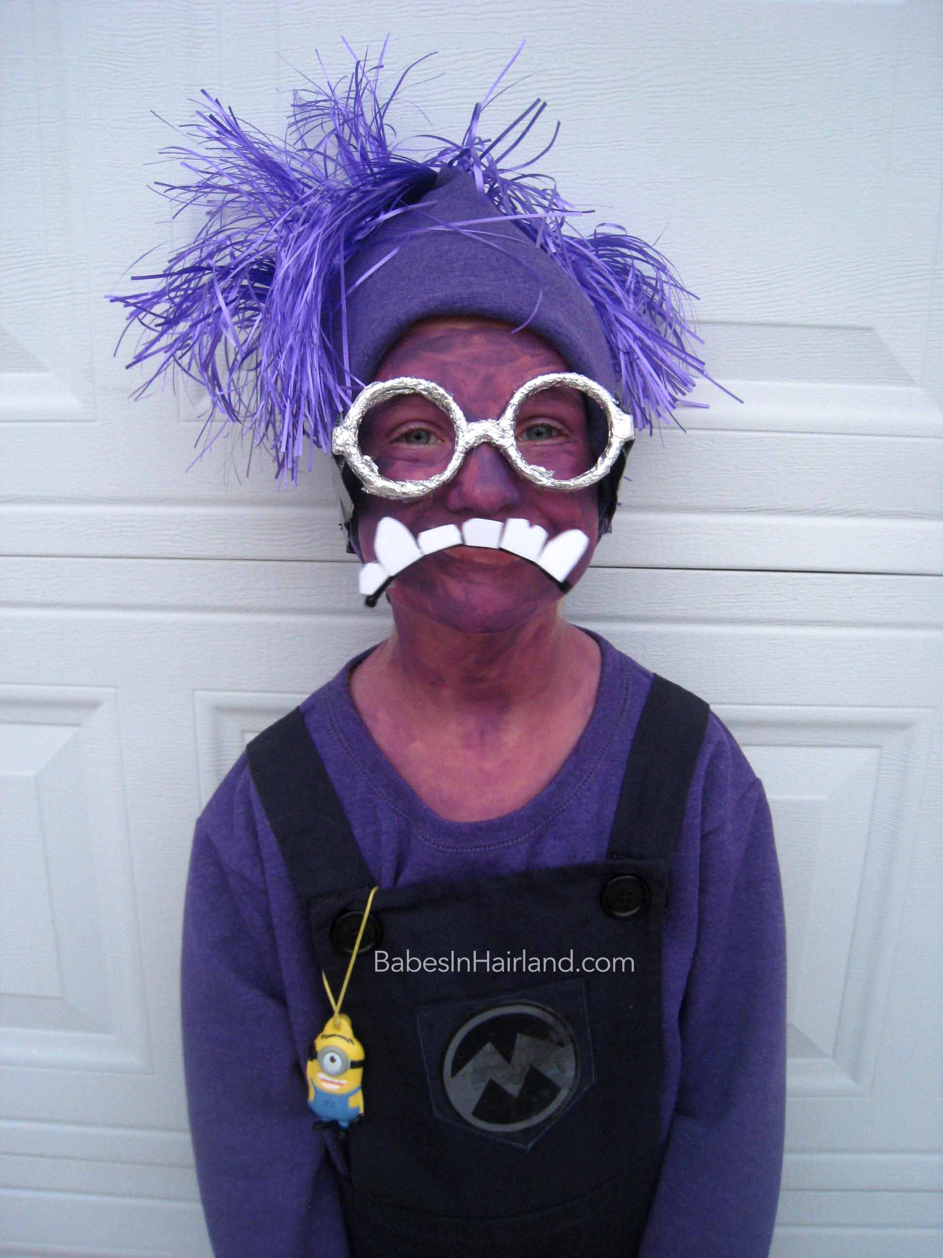 Purple Minion Halloween Costumes - Babes In Hairland