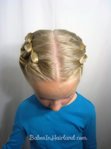 Chunky Knot Updo from BabesInHairland.com