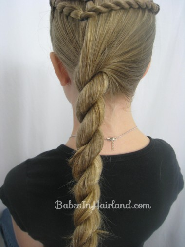 Rope Braid Hairstyle from BabesInHairland.com