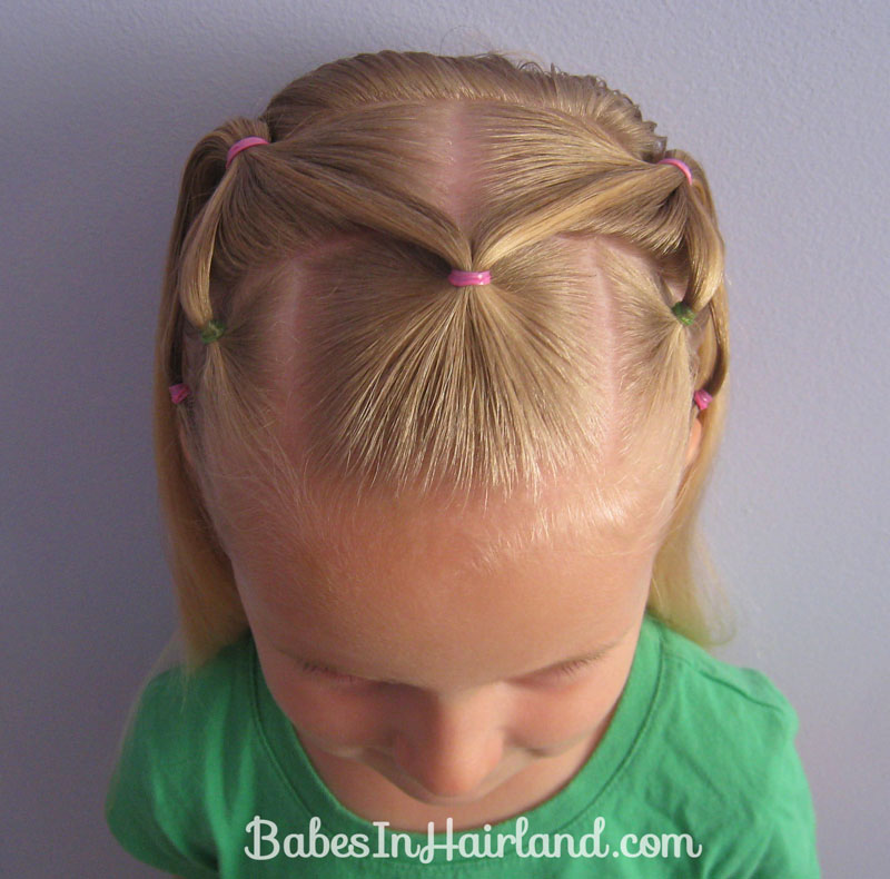 7 Little Ponies Hairstyle   Babes In Hairland