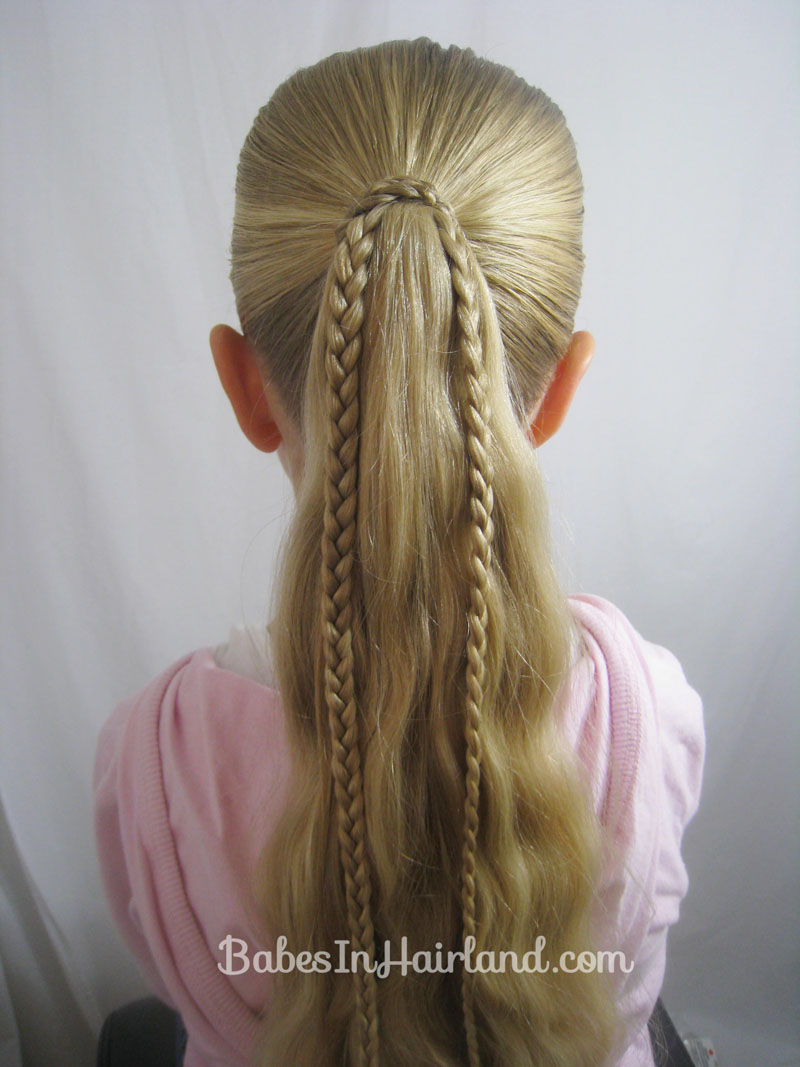 braids and ribbon hairstyle babes in hairland