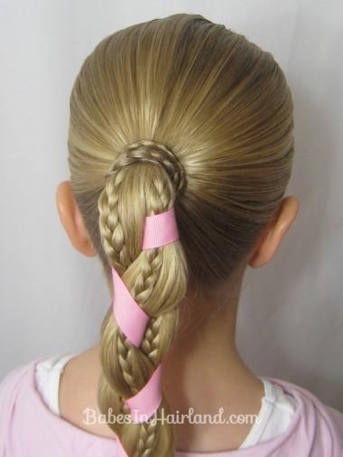 Ribbon & Braids Hairstyle | BabesInHairland.com