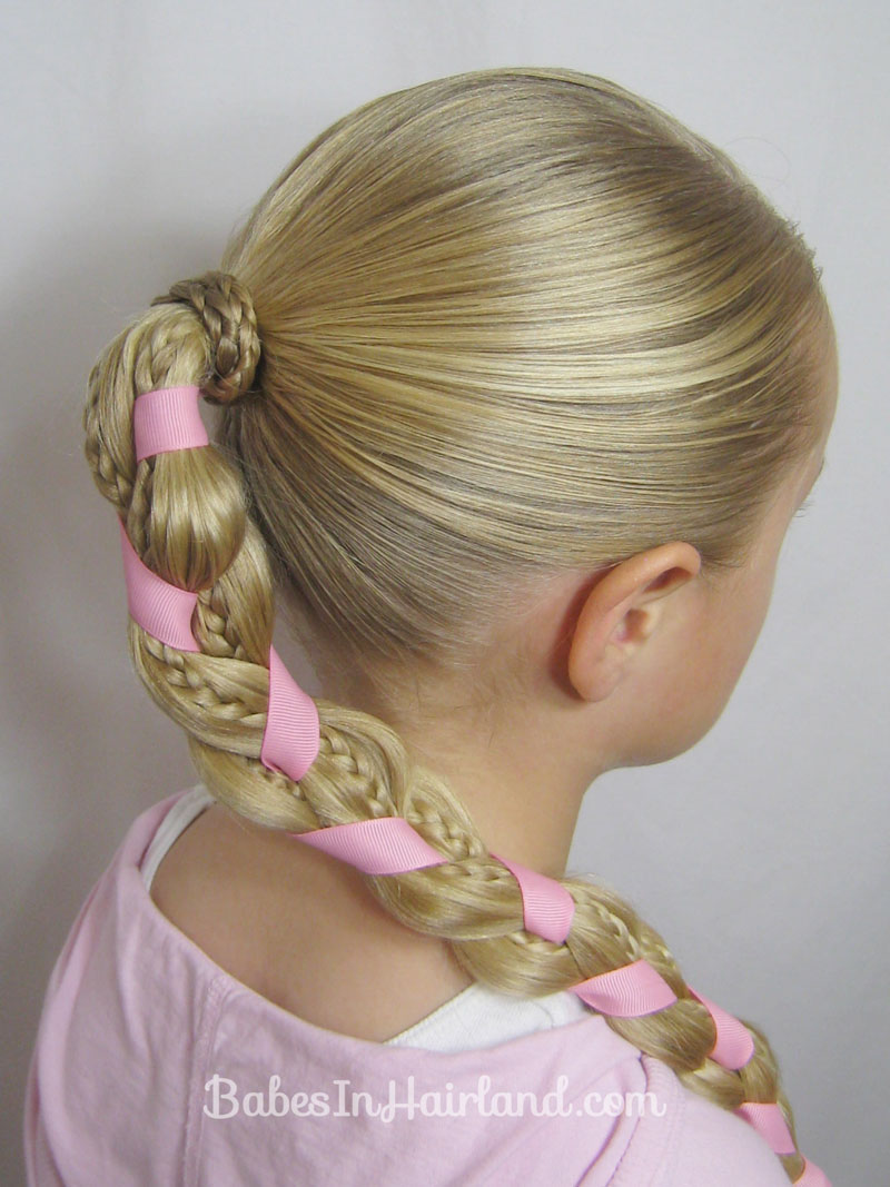 Enjoyable Ribbon Babes In Hairland Short Hairstyles For Black Women Fulllsitofus