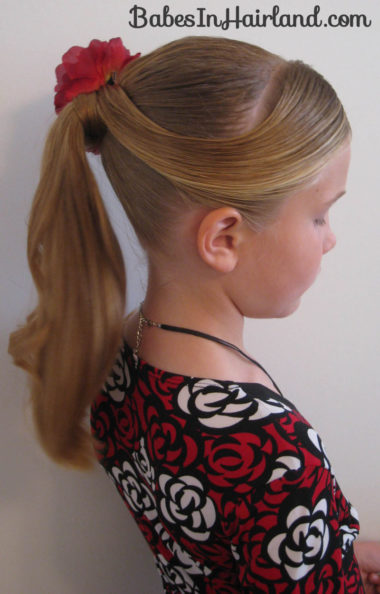 Fancy Wrapped Ponytail Babes In Hairland