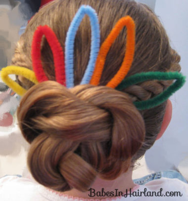 Cute Turkey Bun Hairstyle (8)