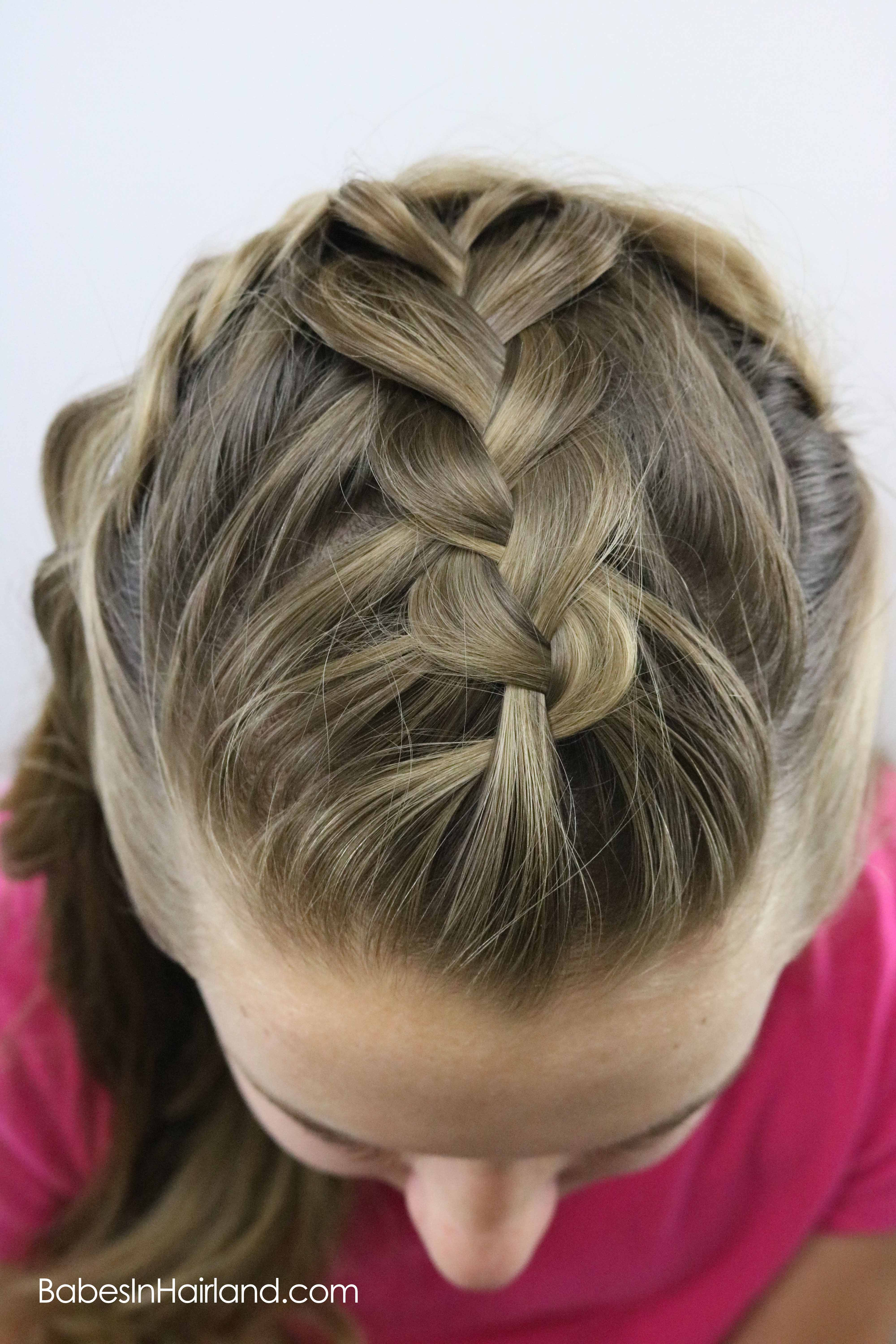 Half Up Braided Style Babes In Hairland