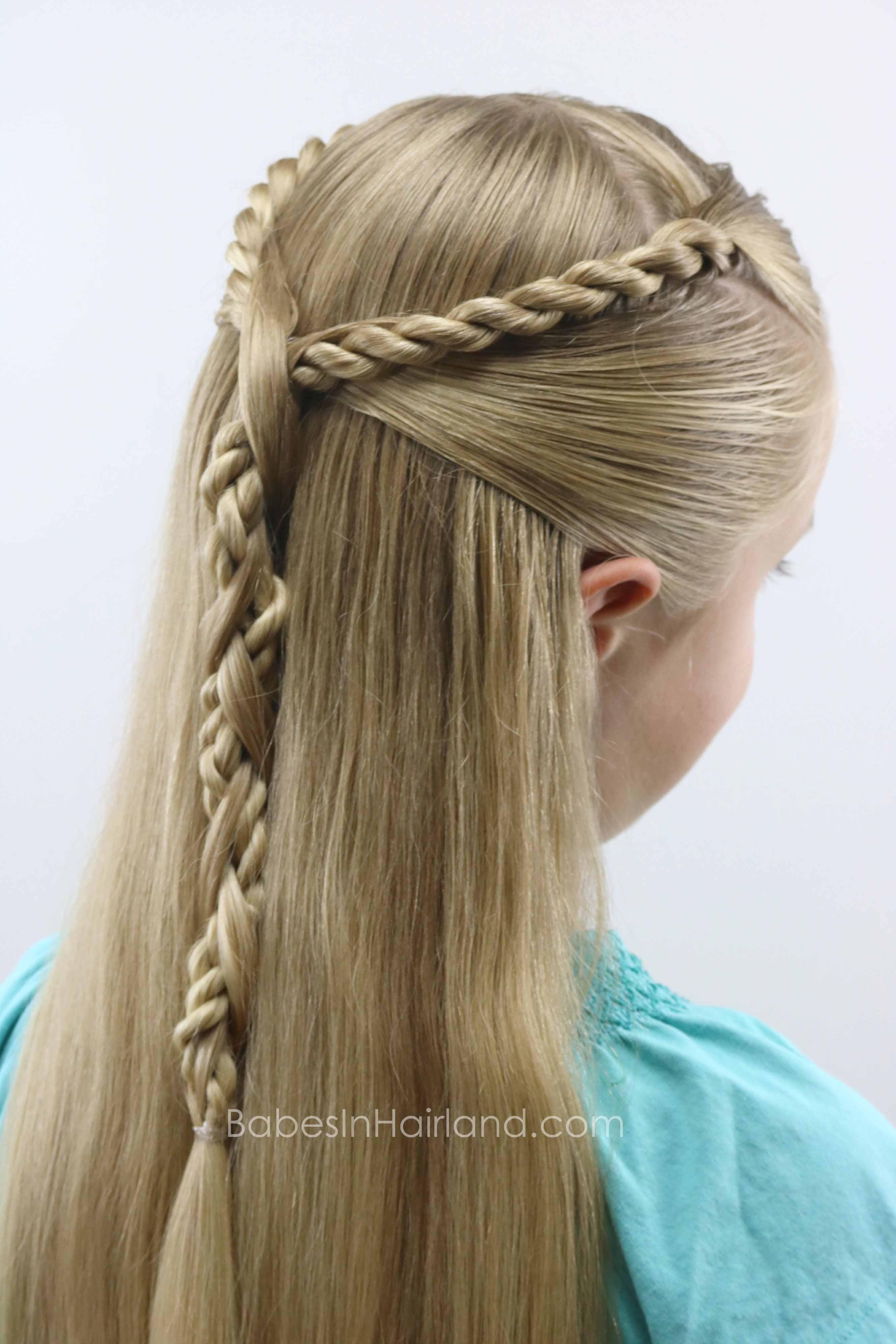 Rope Twist Hawser Braid Pullback Babes In Hairland