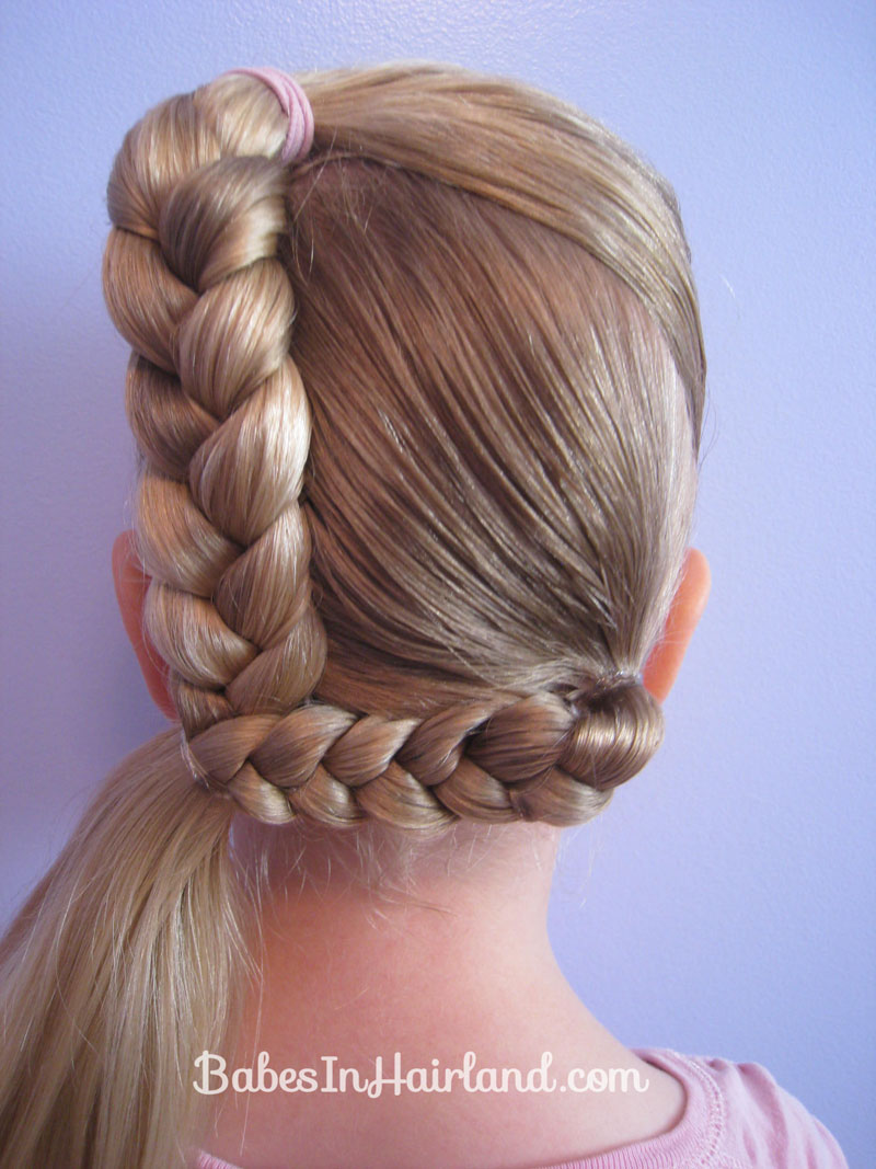 Letter L Hairstyle - Babes In Hairland