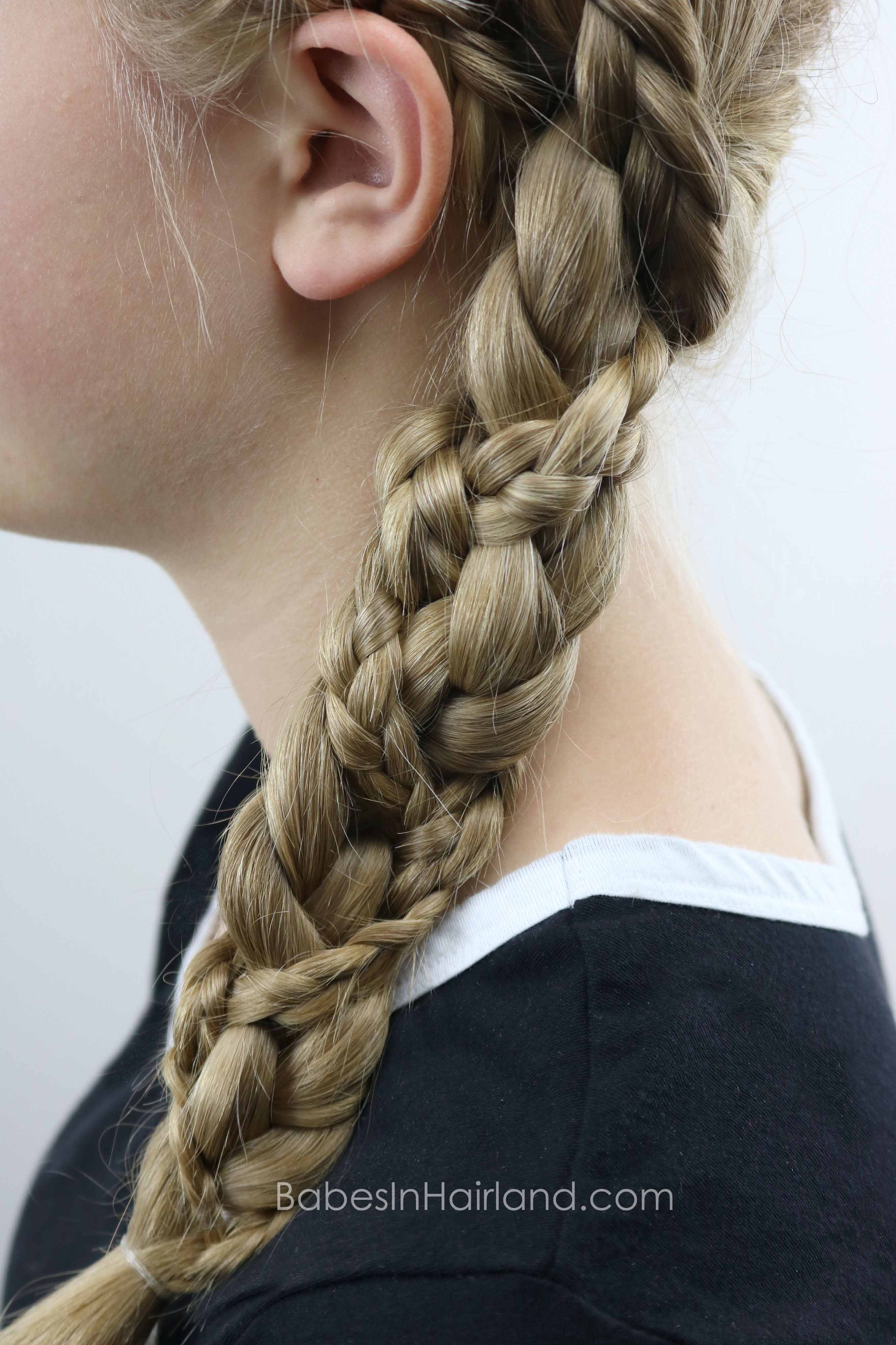 Dutch Braided Headband: Double Dutch Braided Braid