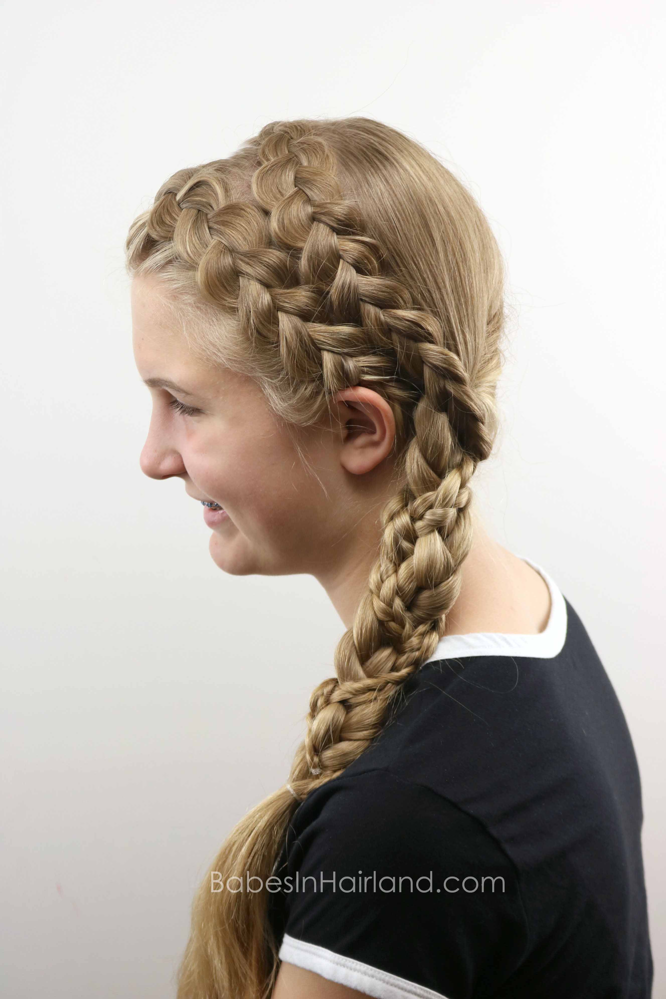 Double Dutch Braided Braid Babes In Hairland