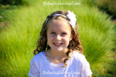 Baptism Hair