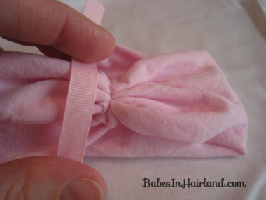 How to Make a Baby Headband (11)