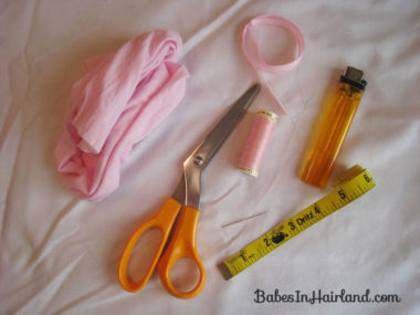 How to Make a Baby Headband (2)