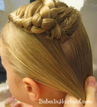 Lauren Conrad Inspired - Half French Braid Wrapped Ponytail (10)