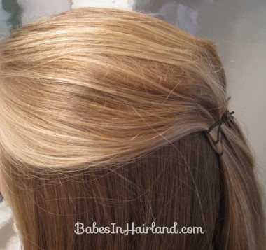 Twisted Flower Girl Hairstyle (2)