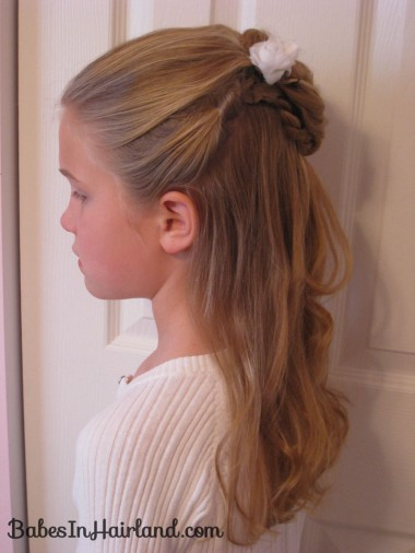 Twisted Flower Girl Hairstyle (11)