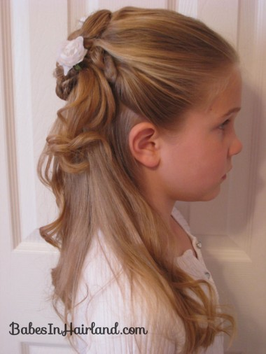 Twisted Flower Girl Hairstyle (10)