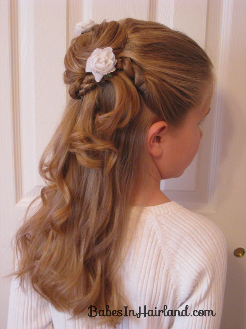 hair styles: hair styles for flower girls