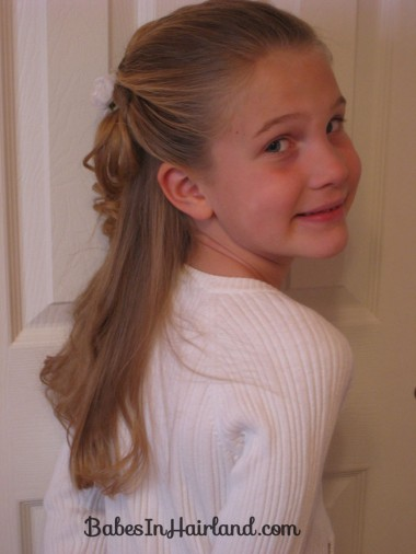 Twisted Flower Girl Hairstyle (12)