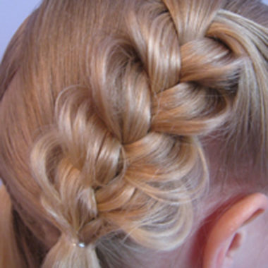 Heart Braids - Valentine's Day Hairstyle (13)