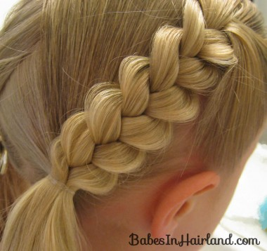 Heart Braids - Valentine's Day Hairstyle (9)