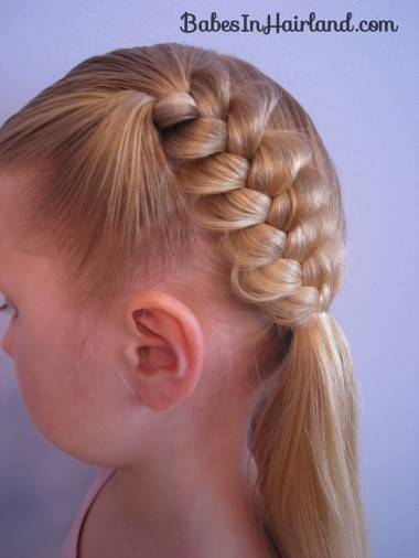 Heart Braids - Valentine's Day Hairstyle (15)