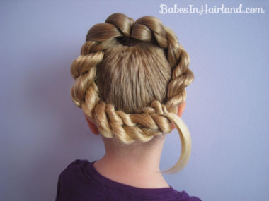 Letter Q Hairstyle (1)