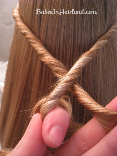 Twisted Knot Hairstyle | Teen Hairstyles (6)