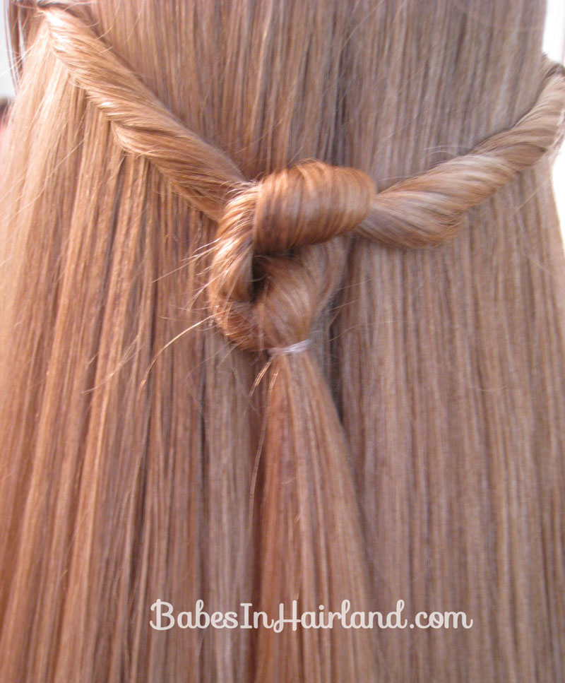 Luxury Twisted Knot Hairstyle  Teen Hairstyles  Babes In Hairland