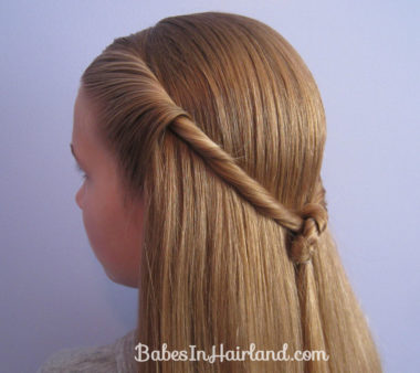 Twisted Knot Hairstyle | Teen Hairstyles (12)