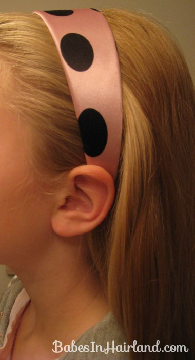 Polka Dot Headband Hairstyles (3)